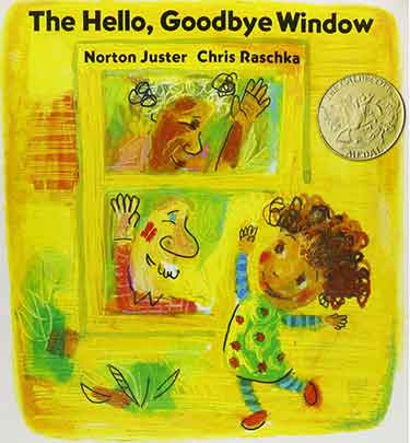 Caldecott Winners - The Hello, Goodbye Window
