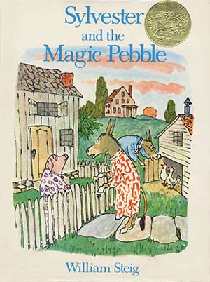 Caldecott Books 1970 - Sylvester and the Magic Pebble