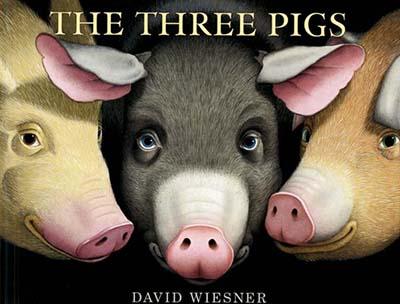 Caldecott Books 2002 - The Three Pigs