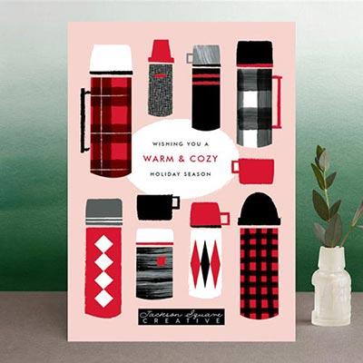 Business Holiday Cards: 9 Original Designs for 2019