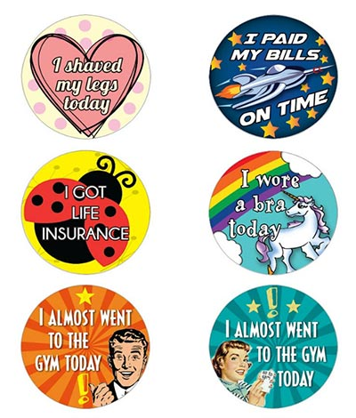 Funny Gag Gifts 2020 - Adult Achievement Stickers