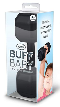 Funny Gag Gifts 2020 - Buff Baby Rattle