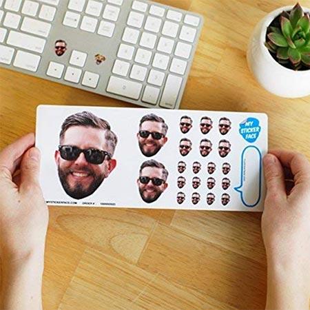 Custom Face Stickers