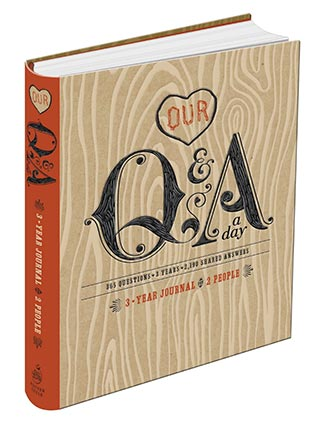1st Anniversary Gift - Q&A A Day Journal