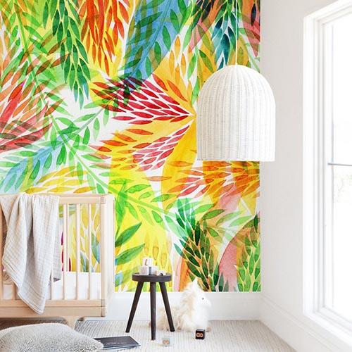 Kids Wall Murals - Tropical