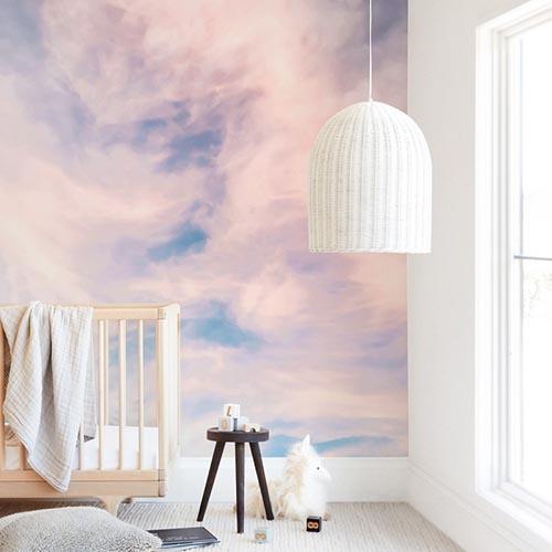 Kids Wall Murals - Cotton Candy Sky