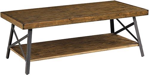 Reclaimed wood coffee tables - Chandler rustic industrial