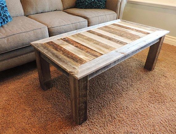 Reclaimed Barnwood Coffee Table
